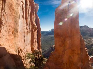 Hiking northern Arizona's red rocks