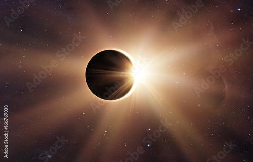 Wall mural Solar Eclipse