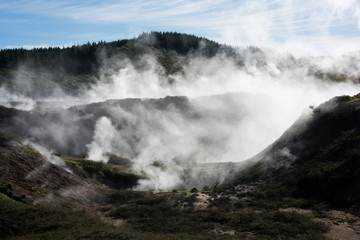 Geothermal volcanic New Zealand at Craters of the Moon