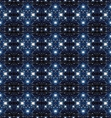 Seamless patterned big starry texture.