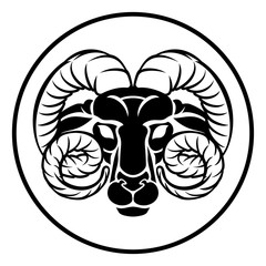 Aries Zodiac Astrology Ram Sign