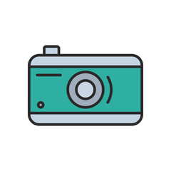camera logo / icon - vector