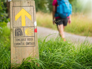 pilgrimage at Camino de Santiago