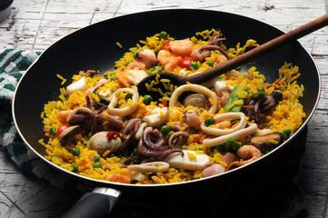 Paella Gastronomía de España 西班牙大鍋飯 Παέγια بايـيا Паэлья Spanische Küche ปาเอยา パエリア פאייה 파에야 Պաելյա Cucina Испанская кухня spagnola Spanish 西班牙飲食 cuisine مطبخ إسباني