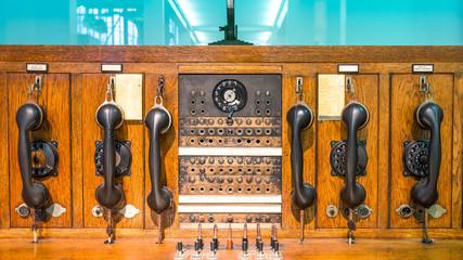 Historische Telekommunikationsanlage