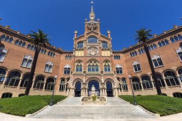 Hospital de la Santa Creu i de Sant Pau, Barcelona, Spain.