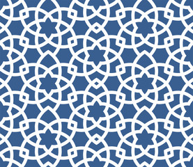 Arabic ornamental background - seamless Persian style pattern