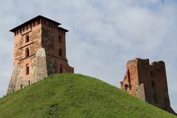 The ruins of the Novogrudok castle