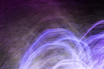 Abstract Long Exposure