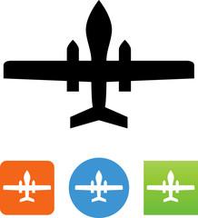 Military Drone Icon