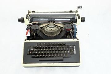 A old typewriter