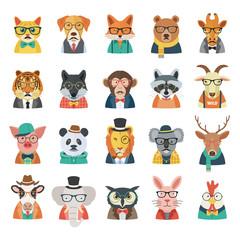 Hipster Animal Set