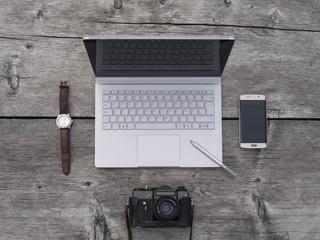 Workplace freelancer, photographer