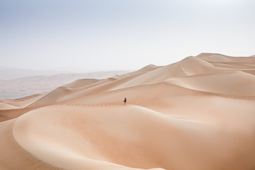 Rub al Khali Desert at the Empty Quarter, in Abu Dhabi, UAE