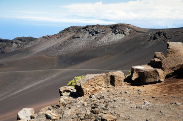 Mount Haleakala Crater in Maui, Hawaii