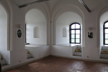 Interior of the towers of the Mir castle