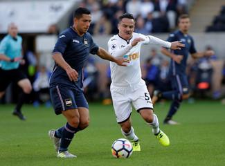 Swansea City vs Sampdoria - Pre Season Friendly