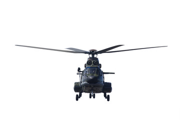 Printed roller blinds Helicopter Military helicopter ready to take off