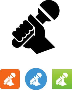 Karaoke Icon - Illustration