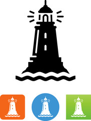 Lighthouse Icon - Illustration