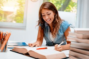 Student Girl Learning
