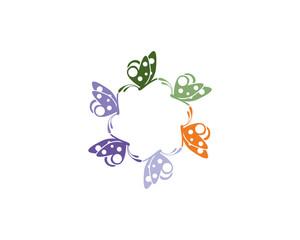 Butterfly Logo Template