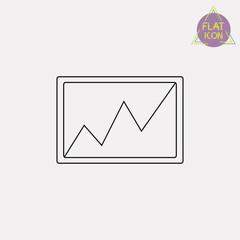 picture line icon