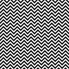 Vector seamless zigzag pattern. Chevron texture. Black-and-white background. Monochrome zigzag stripes design. Vector EPS10