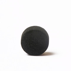 Activated charcoal pill