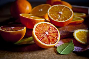Obraz Sycylijskie pomarańcze - fototapety do salonu