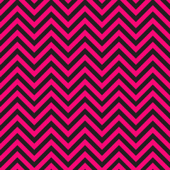 Black and pink chevron pattern