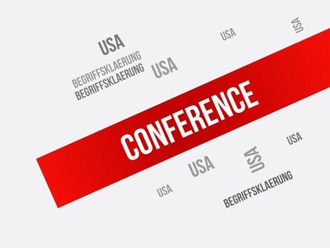 Conference (Begriffsklärung)