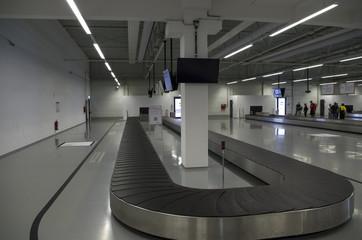 Baggage claim, airport