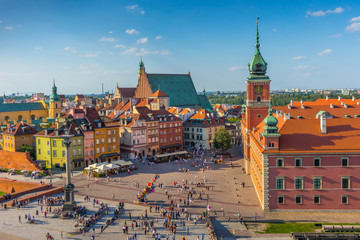 Warsaw, Castle square, Capital of Poland