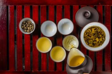 中国茶セット Chinese tea with history