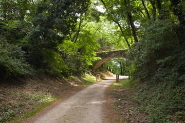 Radweg Dolce Via in der Ardeche