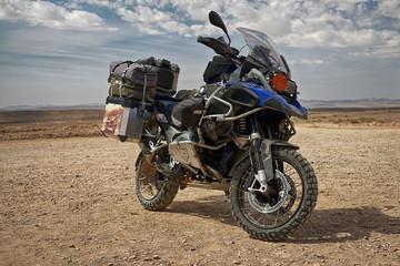 Mit dem Tourenmotorrad durch die Wüsten Afrikas