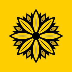 Daisy Solid Logo Design