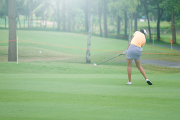 Golf is a sport that requires professional training.
