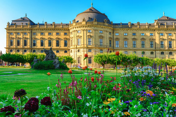 The Residenz of Wurzburg, Germany Wall mural