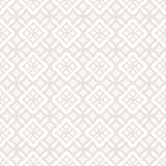 Seamless pattern of on a white background, cross motif,  ornamental background
