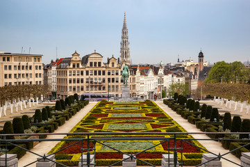 Canvas Prints Brussels Brussels skyline Belgium