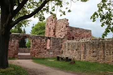 Reichsburg Kyffhausen: Palasbau und Burgkapelle der Unterburg