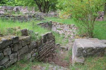 Reichsburg Kyffhausen: Ruinen der Unterburg