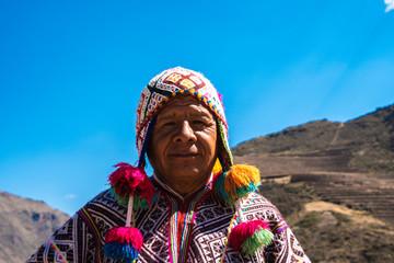 Peruvian man in Sacred Valley, Cusco, Peru