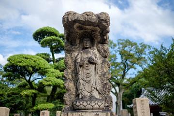 statue in Shitennoji temple