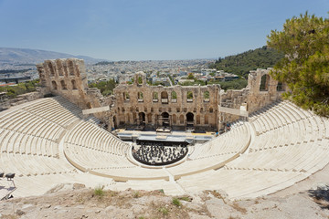 Odeon of Herodes Atticus amphitheater Athens