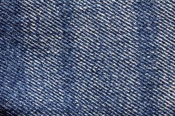Close up denim  blue jeans surface texture background