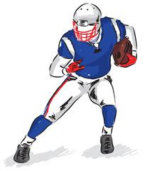 football player illustration (2)