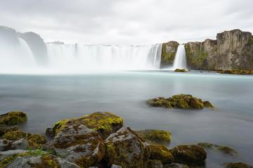 Godafoss is a very beautiful Icelandic waterfall.